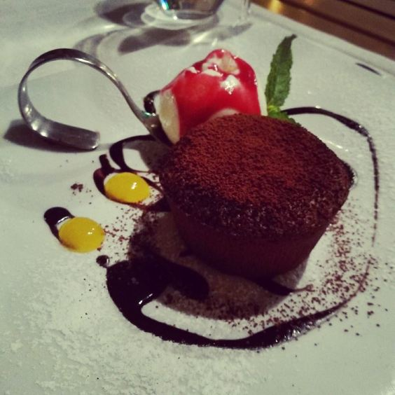 Шоколадовото суфле
