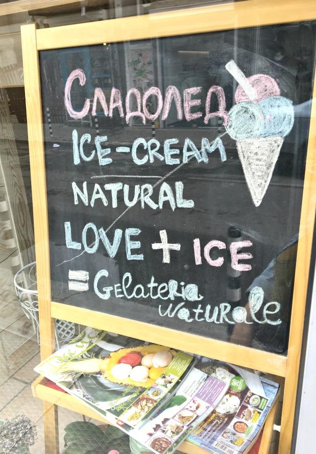 gelateria naturale